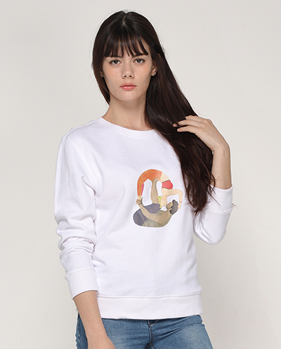Share heart Sweat shirt 쉐어하트_ yoga for earth 프로젝트